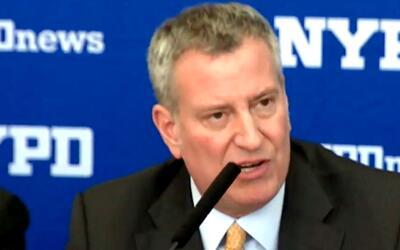 'Nueva York en un Minuto': Bill de Blasio presentará su plan para enfren...