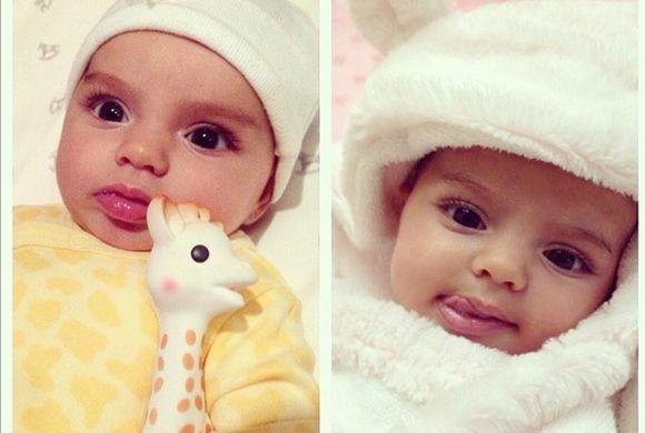 ¡Qué ternura!  La bebé de Alessandra Rosaldo y Eugenio Derbez luce hermo...
