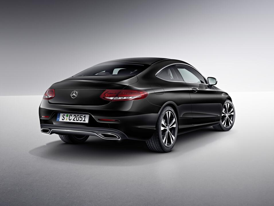 mercedes benz clase c coupe 2017 a bordo univision