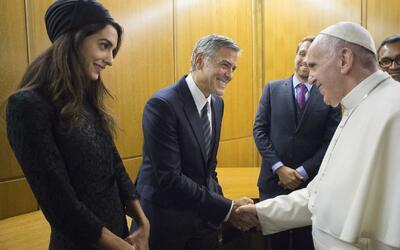 George Clooney, Salma Hayek y Richard Gere fueron homenajeados en el Vat...