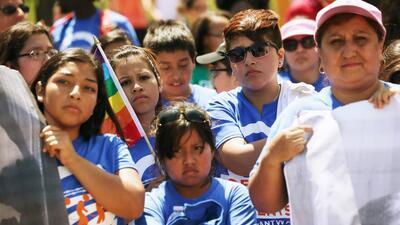 Los dreamers son jóvenes indocumentados que ingresaron siendo niños a Es...