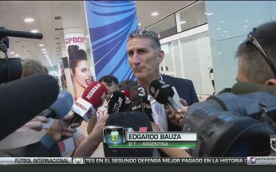 """Edgardo Bauza: """"No vengo a convencer a Messi de nada"""""""
