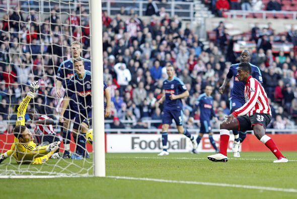 El único tanto lo marcó Asamoah Gyan.