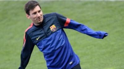 El atacante argentino no quiere perderse el choque de vuelta ante los pa...