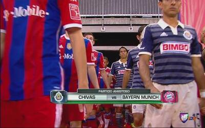 Chivas cayó por la mínima ante el Bayern Múnich