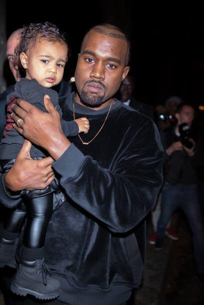 """Kanye es un papi sobreprotector, ¿qué hará cuando a Nori le """"lluevan"""" lo..."""