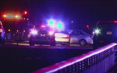 En video, la desenfrenada carrera de una patrulla para atrapar a cuatro...