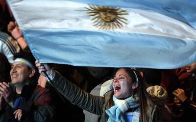 Argentina celebra su independencia y su triunfo