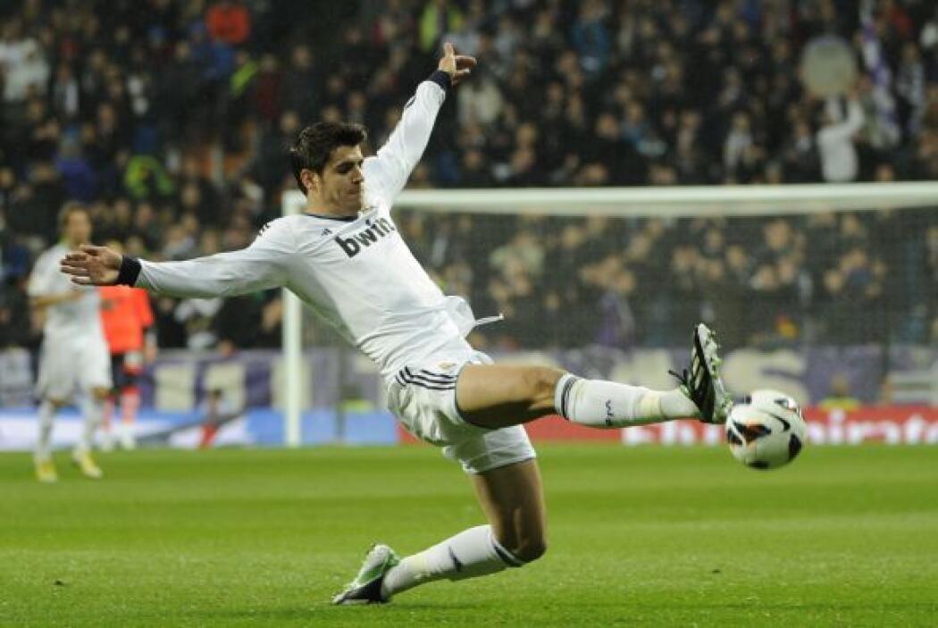 Kaká estuvo entre el once titular.