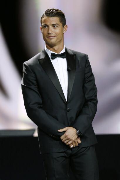 Todos los focos en Cristiano Ronaldo, era amplio favorito para ganar.