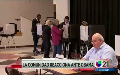 La Comunidad reacciona ante Obama