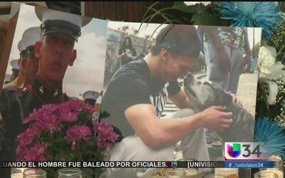 La familia del infante de marina baleado decidió donar sus órganos