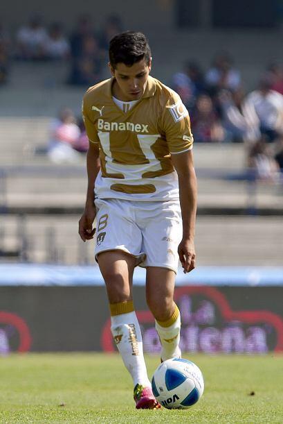 David Cabrera: El mediocampista de contención, dio un partido muy comple...