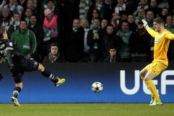 Pero la fortuna y juego ordenado del Celtic, con el que derrotó al Barce...