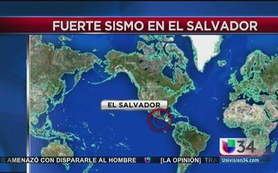 Fuerte sismo dejó réplicas y daños en El Salvador