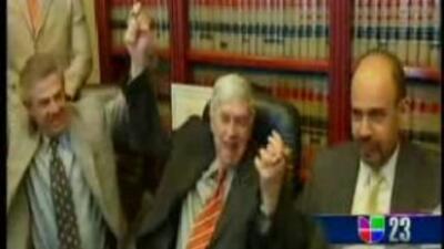 Posada Carriles dijo estar agradecido al sistema judicial de Estados Uni...