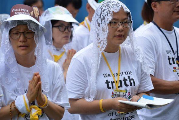 El Papa celebró la misa de la Asunción de la Virgen Mar&ia...