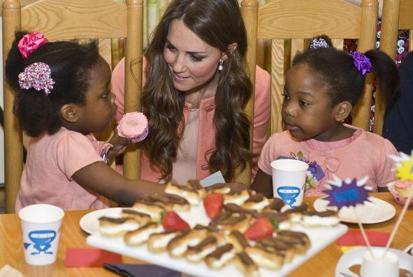 Kate Middleton está a punto de convertirse en mamá y durante su embarazo...