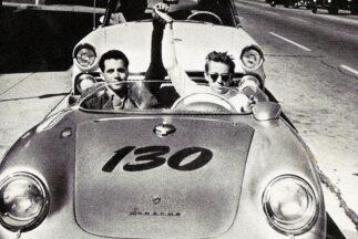 """James Dean y su Porsche 550 Spyder """"Little Bastard"""""""