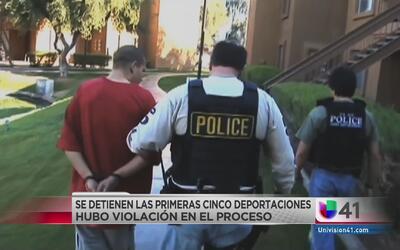 Redadas violan derechos de migrantes detenidos