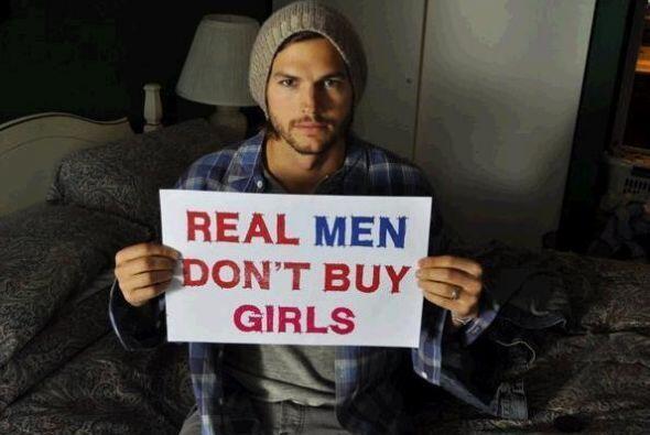 Otro famoso que de inmediato imitó a Penn fue Ashton Kutcher, quien desd...