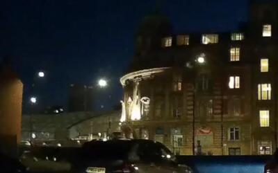 Un video capta el fuerte estallido de la explosión en el Arena Manchester