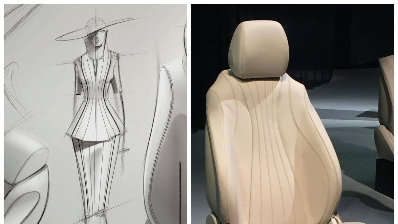 Asiento del nuevo Mercedes-Benz Clase-E 2017 y su inspiración