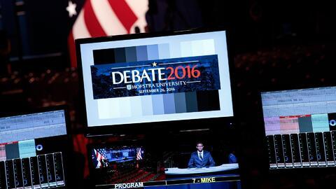 ¿Puede el primer debate presidencial definir quien llegará a la Casa Bla...