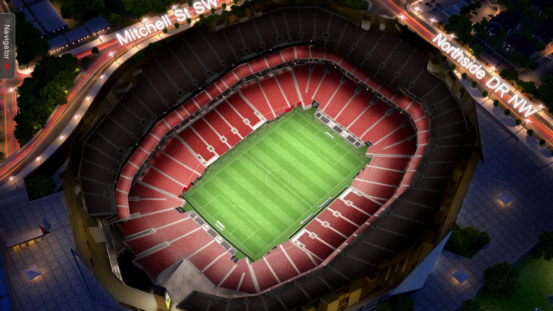 Tour virtual de Atlanta United FC