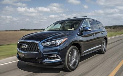 Una camioneta de lujo para toda la familia: Infiniti QX60 2017