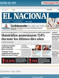 El diario El Nacional está envuelto en la polémica gracias a su publicac...