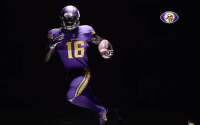 Mira el uniforme 'Color Rush' de los Minnesota Vikings