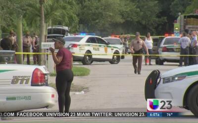 Investigan tiroteo en Miami que dejó a una niña muerta y a su padre en e...