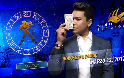 Niño Prodigio - Acuario 22 de marzo, 2017
