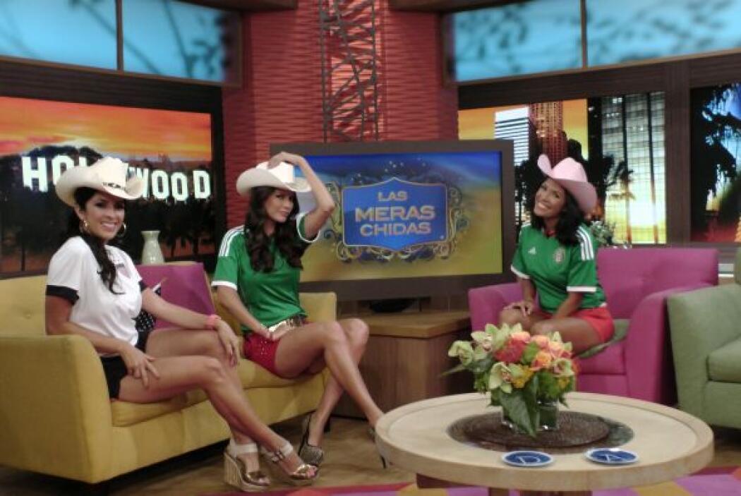 El sombrero no podía faltar para el segmento de 'Las Meras Chidas'.