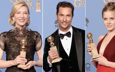 La gran noche de los Golden Globes