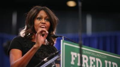 Michelle Obama apoya campaña de Wendy Davis.