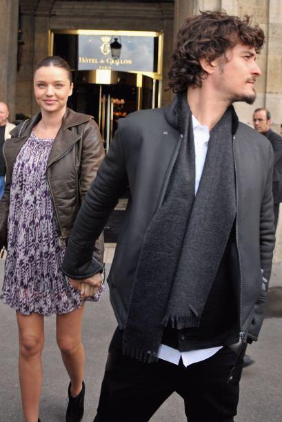 Orlando Bloom y la modelo de Victoria's Secret, Miranda Kerr, anunciaron...