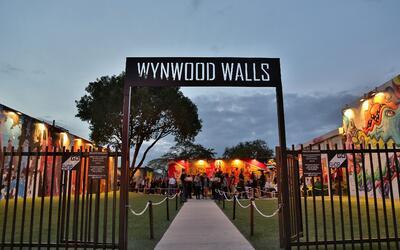 Wynwood Walls, uno de los lugares más turísticos de Miami.