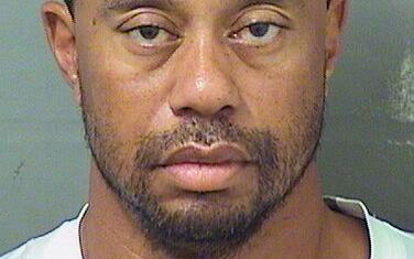 Tiger Woods fue arrestado por la policía de Palm Beach, Florida,...