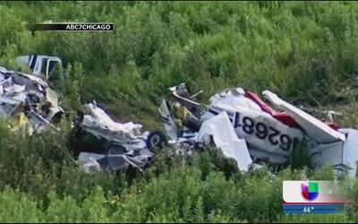 Un muerto tras accidente aéreo