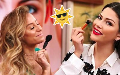 Logra un broceado natural con maquillaje: color en la piel de ellas y ellos