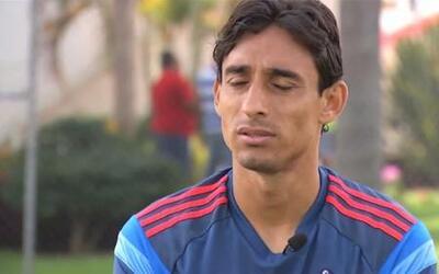 """Fernando Arce: """"Tenemos que olvidarnos de la presión y jugar con alegría"""""""