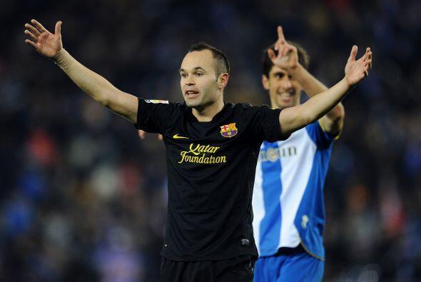 El Barcelona no podía creer lo que sucedía.