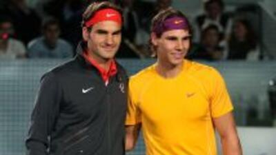 Son los mejores tenistas de la actualidad.