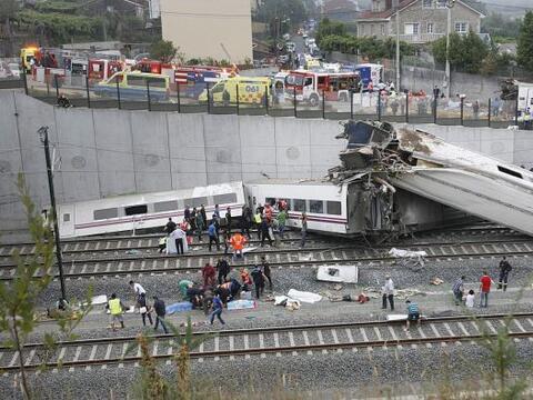 Un accidente en Santiago de Compostela causó indignación e...