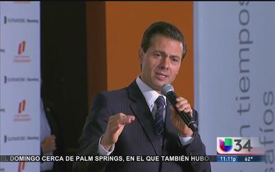 """Enrique Peña Nieto: """"Mi único propósito es que a México la vaya bien"""""""
