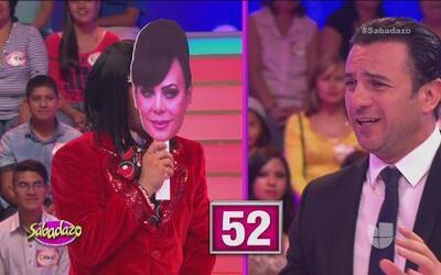 Martha Julia y Alejandro Ávila se enfrentaron en un reto