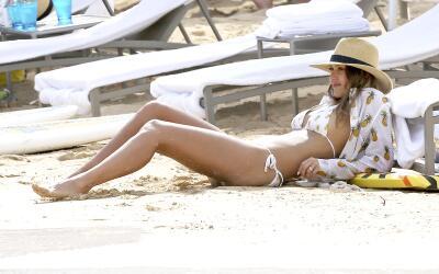 Jessica Alba disfruta de Honolulu.