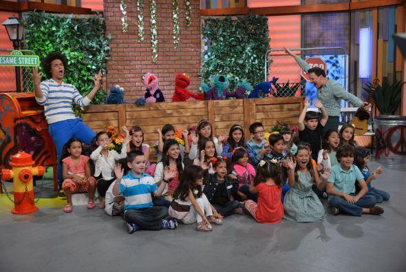 ¡Claro que los más encantados con ellos fueron los niños!